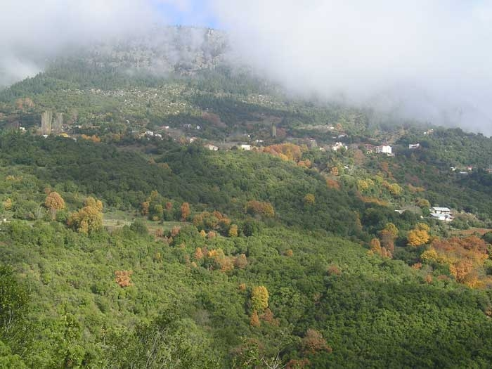 Θέα χωριού από Προύντα