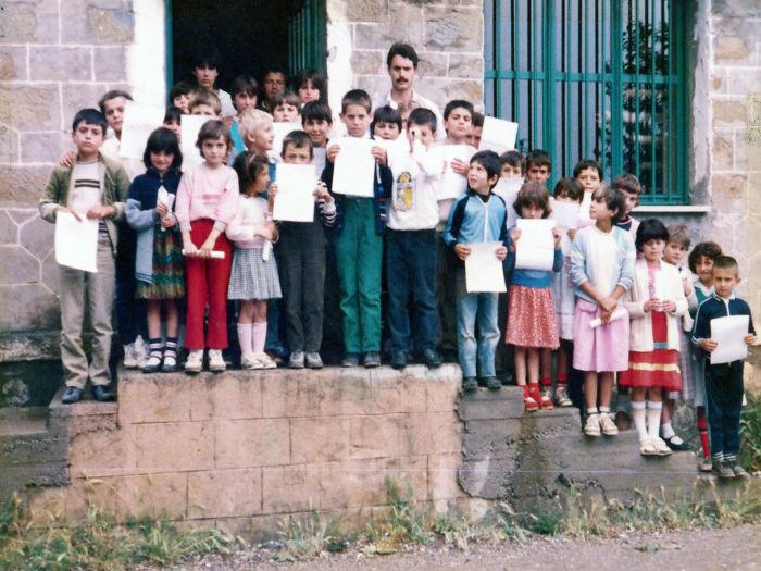 Δημοτικό σχολείο, 1985-1986